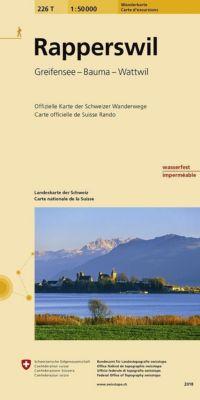 Swisstopo 1 : 50 000 Rapperswil