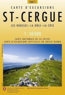 Swisstopo 1 : 50 000 St-Cergue