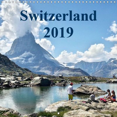 Switzerland 2019 (Wall Calendar 2019 300 × 300 mm Square), Stuart Cooke