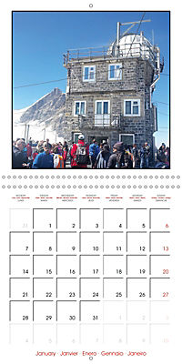 Switzerland 2019 (Wall Calendar 2019 300 × 300 mm Square) - Produktdetailbild 1
