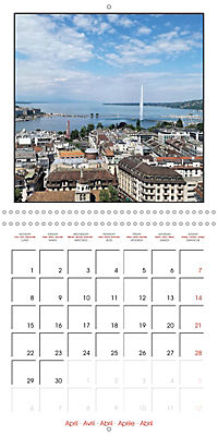 Switzerland 2019 (Wall Calendar 2019 300 × 300 mm Square) - Produktdetailbild 4