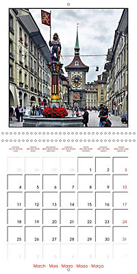 Switzerland 2019 (Wall Calendar 2019 300 × 300 mm Square) - Produktdetailbild 3