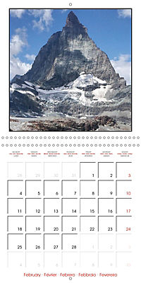 Switzerland 2019 (Wall Calendar 2019 300 × 300 mm Square) - Produktdetailbild 2