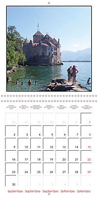 Switzerland 2019 (Wall Calendar 2019 300 × 300 mm Square) - Produktdetailbild 9