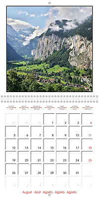 Switzerland 2019 (Wall Calendar 2019 300 × 300 mm Square) - Produktdetailbild 8