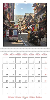 Switzerland 2019 (Wall Calendar 2019 300 × 300 mm Square) - Produktdetailbild 10