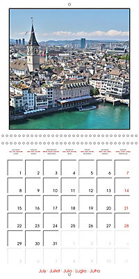 Switzerland 2019 (Wall Calendar 2019 300 × 300 mm Square) - Produktdetailbild 7