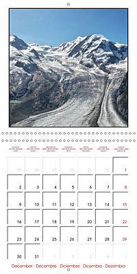 Switzerland 2019 (Wall Calendar 2019 300 × 300 mm Square) - Produktdetailbild 12