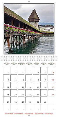 Switzerland 2019 (Wall Calendar 2019 300 × 300 mm Square) - Produktdetailbild 11