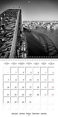 SYDNEY Monochrome Highlights (Wall Calendar 2019 300 × 300 mm Square) - Produktdetailbild 1
