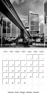 SYDNEY Monochrome Highlights (Wall Calendar 2019 300 × 300 mm Square) - Produktdetailbild 2