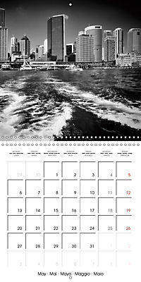 SYDNEY Monochrome Highlights (Wall Calendar 2019 300 × 300 mm Square) - Produktdetailbild 5