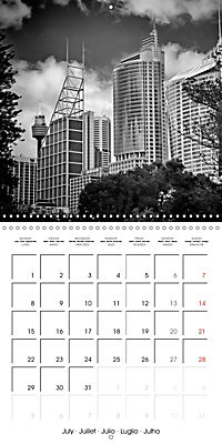 SYDNEY Monochrome Highlights (Wall Calendar 2019 300 × 300 mm Square) - Produktdetailbild 7