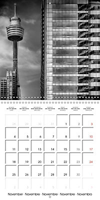 SYDNEY Monochrome Highlights (Wall Calendar 2019 300 × 300 mm Square) - Produktdetailbild 11