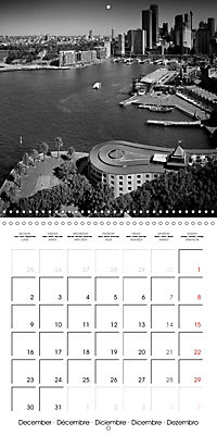 SYDNEY Monochrome Highlights (Wall Calendar 2019 300 × 300 mm Square) - Produktdetailbild 12