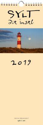 Sylt - die Insel 2019 Streifenkalender, Gernot Westendorf