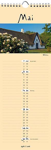 Sylt - die Insel 2019 Streifenkalender - Produktdetailbild 5