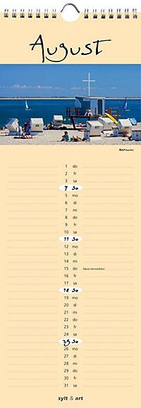 Sylt - die Insel 2019 Streifenkalender - Produktdetailbild 8