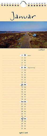Sylt - die Insel 2019 Streifenkalender - Produktdetailbild 1