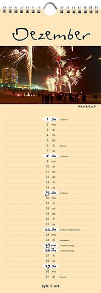 Sylt - die Insel 2019 Streifenkalender - Produktdetailbild 12