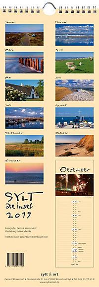 Sylt - die Insel 2019 Streifenkalender - Produktdetailbild 13