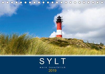 Sylt mein Inselblick (Tischkalender 2019 DIN A5 quer), Andrea Dreegmeyer