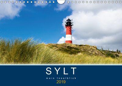 Sylt mein Inselblick (Wandkalender 2019 DIN A4 quer), Andrea Dreegmeyer