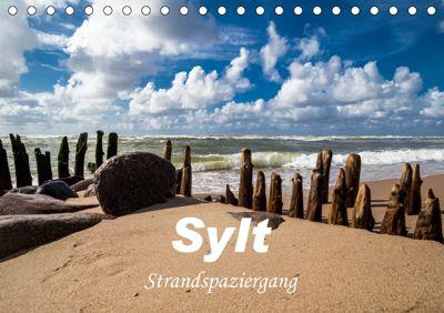 Sylt - Strandspaziergang (Tischkalender 2019 DIN A5 quer), H. Dreegmeyer