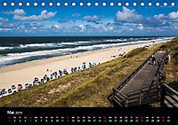 Sylt - Strandspaziergang (Tischkalender 2019 DIN A5 quer) - Produktdetailbild 5