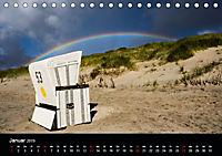 Sylt - Strandspaziergang (Tischkalender 2019 DIN A5 quer) - Produktdetailbild 1