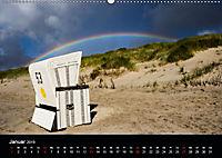 Sylt - Strandspaziergang (Wandkalender 2019 DIN A2 quer) - Produktdetailbild 1