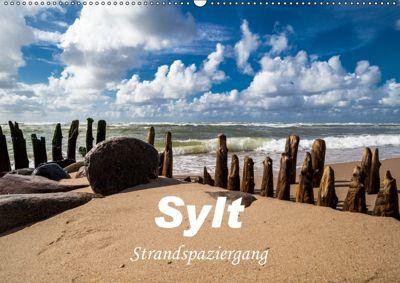 Sylt - Strandspaziergang (Wandkalender 2019 DIN A2 quer), H. Dreegmeyer