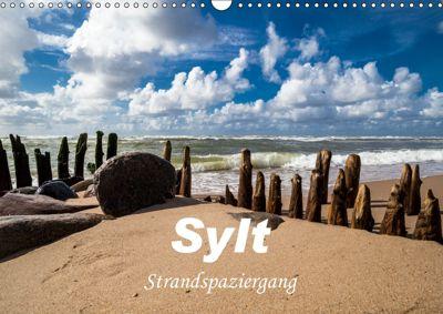 Sylt - Strandspaziergang (Wandkalender 2019 DIN A3 quer), H. Dreegmeyer