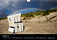 Sylt - Strandspaziergang (Wandkalender 2019 DIN A4 quer) - Produktdetailbild 1
