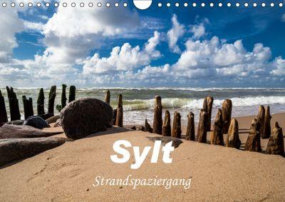 Sylt - Strandspaziergang (Wandkalender 2019 DIN A4 quer), H. Dreegmeyer