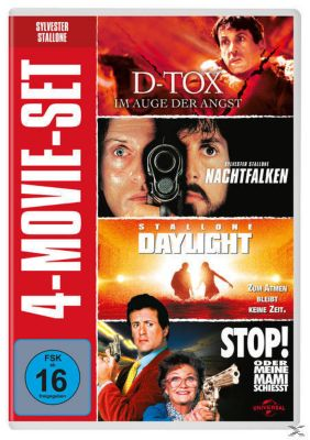 Sylvester Stallone - 4-Movie-Set DVD-Box, Tom Berenger,Dina Meyer Sylvester Stallone