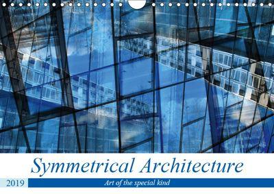 Symmetrical Architecture (Wall Calendar 2019 DIN A4 Landscape), Maurus Spescha