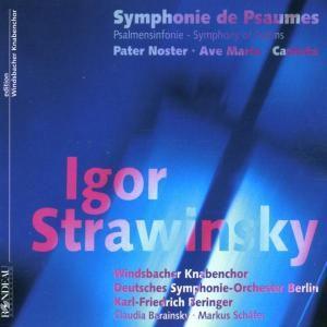 Symphonie De Psaumes, Windsbacher Knabenchor, Markus Schäfer