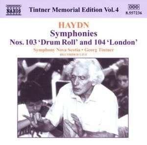 Symphonien Nr. 103+104, Georg Tintner, SO Nova Scotia