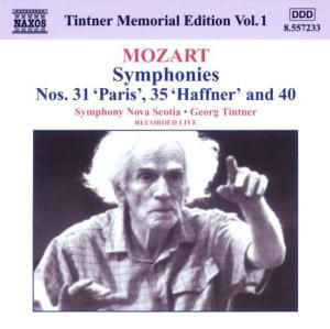 Symphonien Nr.31,35+40, Georg Tintner, SO Nova Scotia