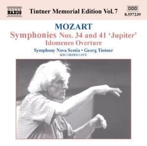 Symphonien Nr.34+41/idomeneo, Georg Tintner, SO Nova Scotia