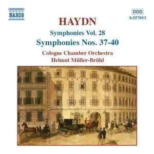 Symphonien Vol. 28, Helmut Müller-Brühl, Kölner Kammerorchester