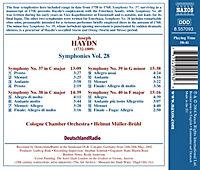 Symphonien Vol. 28 - Produktdetailbild 1