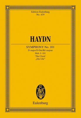 Symphony No. 101 D major, The Clock, Joseph Haydn