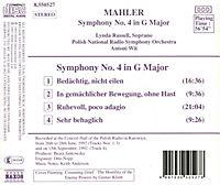 Symphony No 4 - Produktdetailbild 1