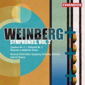 Symphony No. 4 / Rhapsody on Moldavian Themes / Sinfonietta No. 2, G. Chmura, Prso