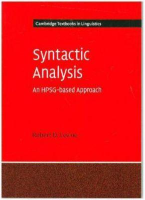 Syntactic Analysis, Robert D. Levine