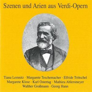 Szenen Und Arien Aus Verdi-Ope, Lemnitz, Teschemacher, Klose