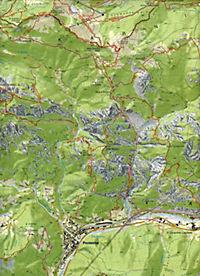 Tabacco topographische Wanderkarte Alpi Carniche - Produktdetailbild 1