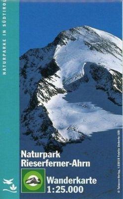 Tabacco topographische Wanderkarte Naturpark Riesferrner-Ahn